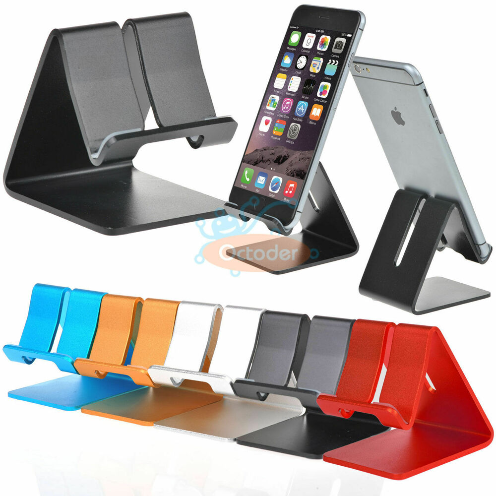 Universal Aluminum Desktop Desk Stand Holder Mount For