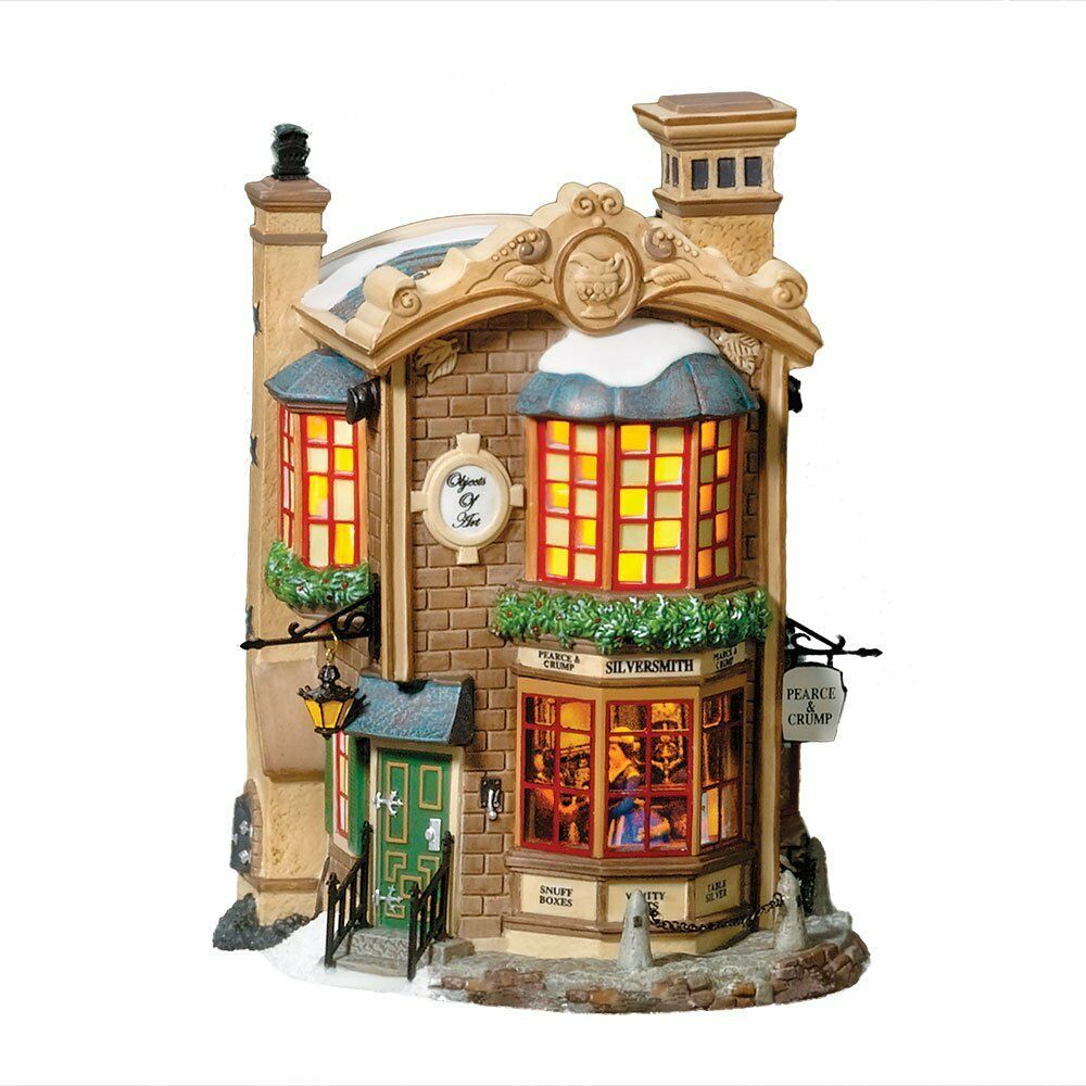 department 56 dickens 39 village pearce crump silversmiths ebay. Black Bedroom Furniture Sets. Home Design Ideas