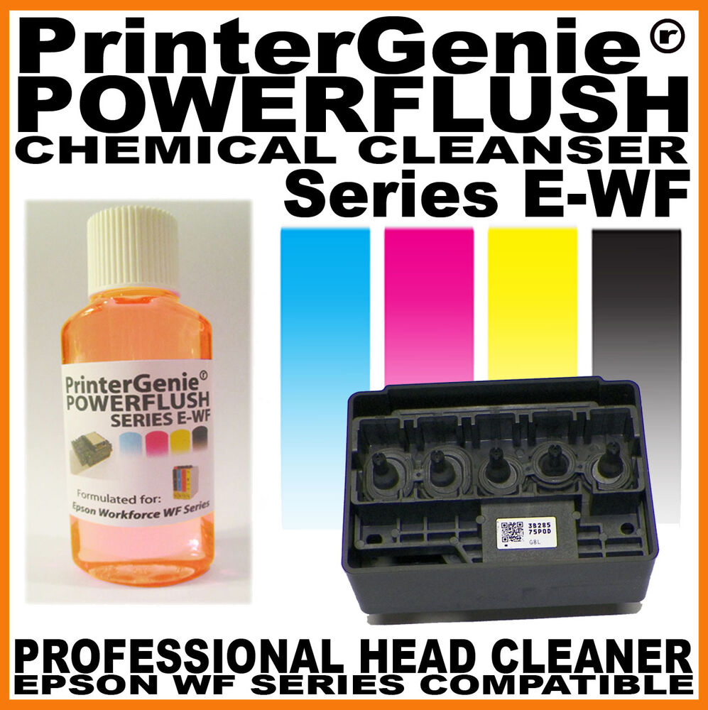 Printhead Cleaner For Epson Workforce WF2630 / 2640 / 2650