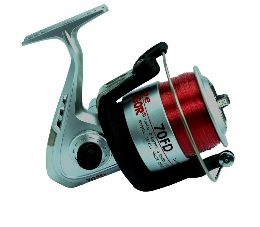Lineaeffe vigor silk 70 30lb line sea beachcaster fishing for Ebay fishing reels