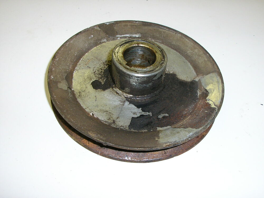 History Of Pulleys And Gears : Simplicity allis chalmers asm bevel gear pulley for