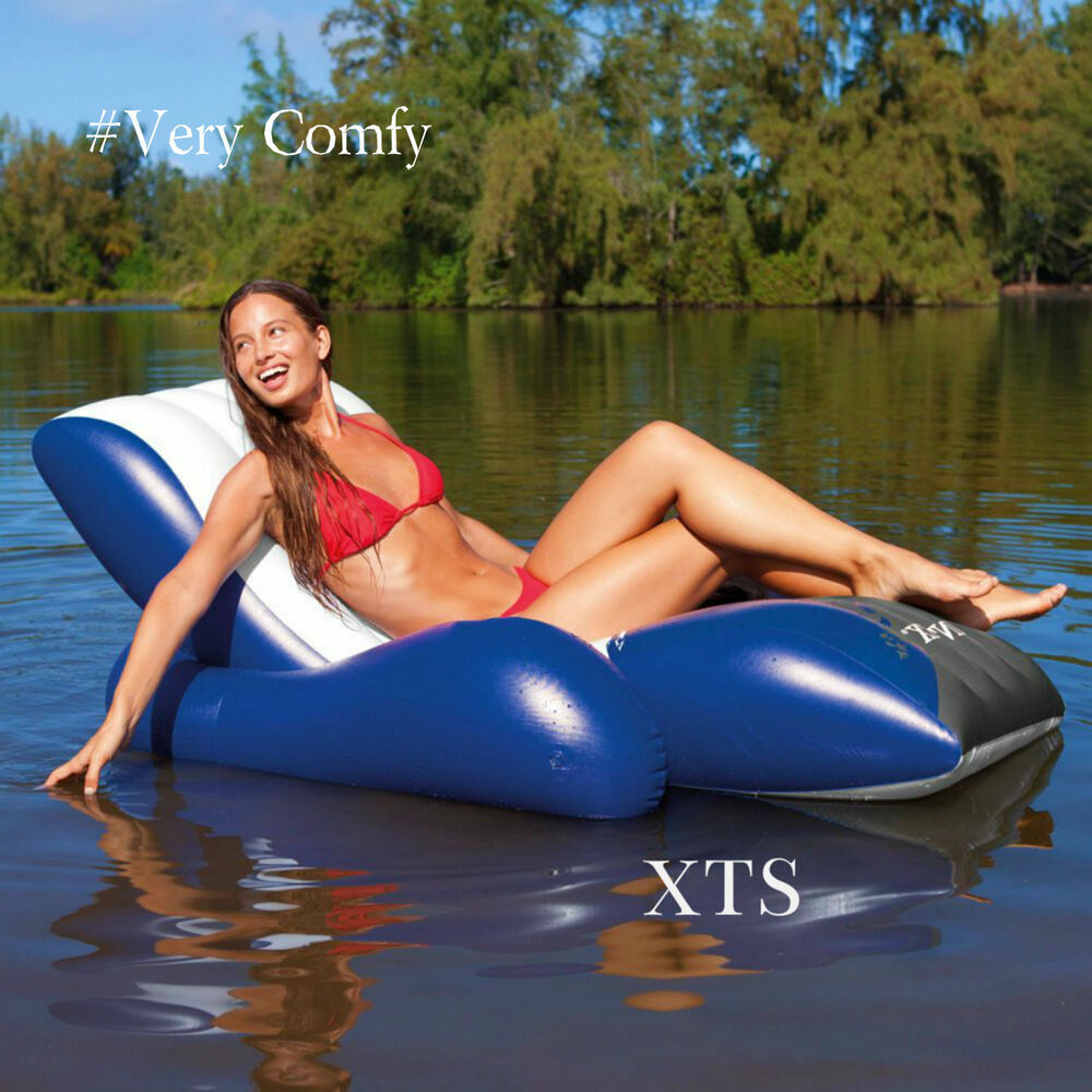 Inflatable Pool Float Swimming Lounge Raft Adult Toys