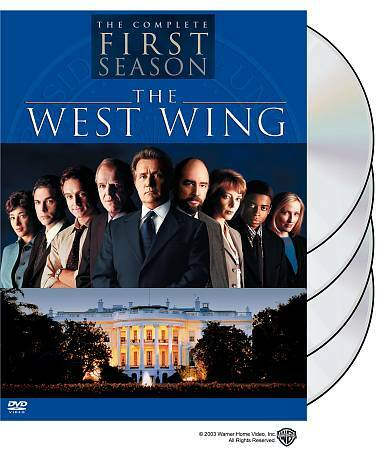 the west wing complete first season dvd 2003 4 disc set digipack brand new 85392425921 ebay. Black Bedroom Furniture Sets. Home Design Ideas