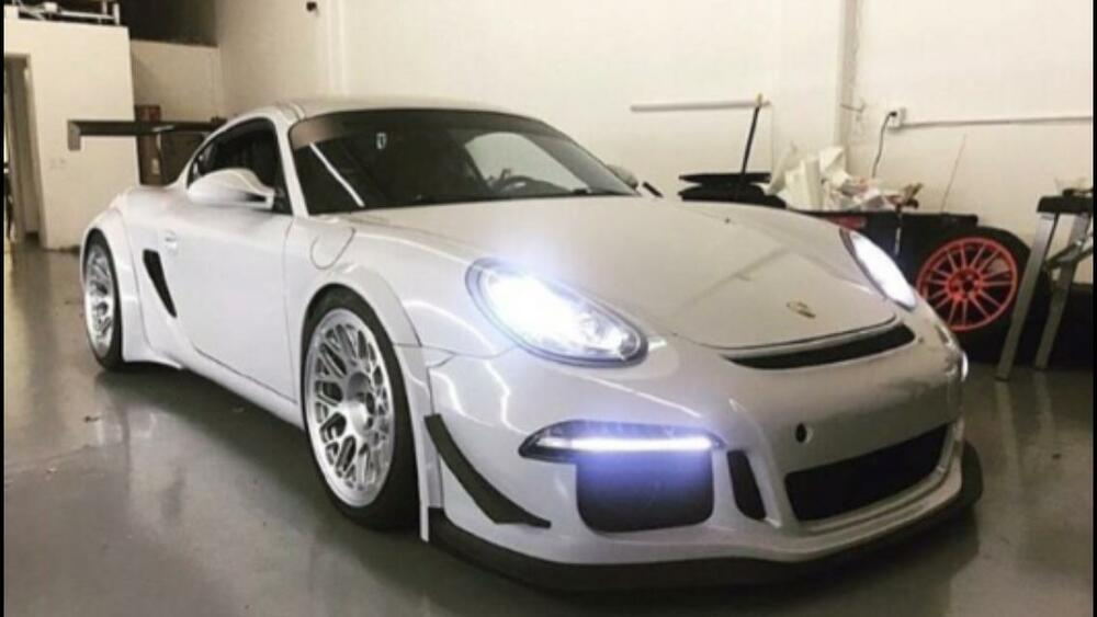 porsche 991 gt3 front bumper for cayman and boxster skirt. Black Bedroom Furniture Sets. Home Design Ideas