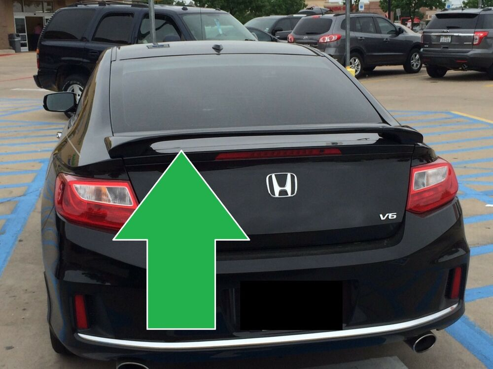 For Honda Accord Coupe Painted Custom Rear Spoiler Wing