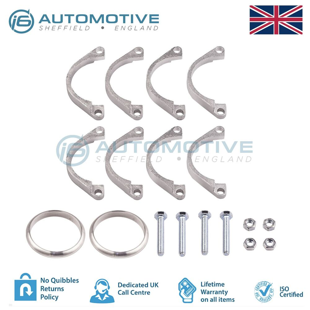 Bmw E46 M3 Amp Z4m Exhaust Flange Repair Rusted Corroded Broken 4 Flange Kit Ebay