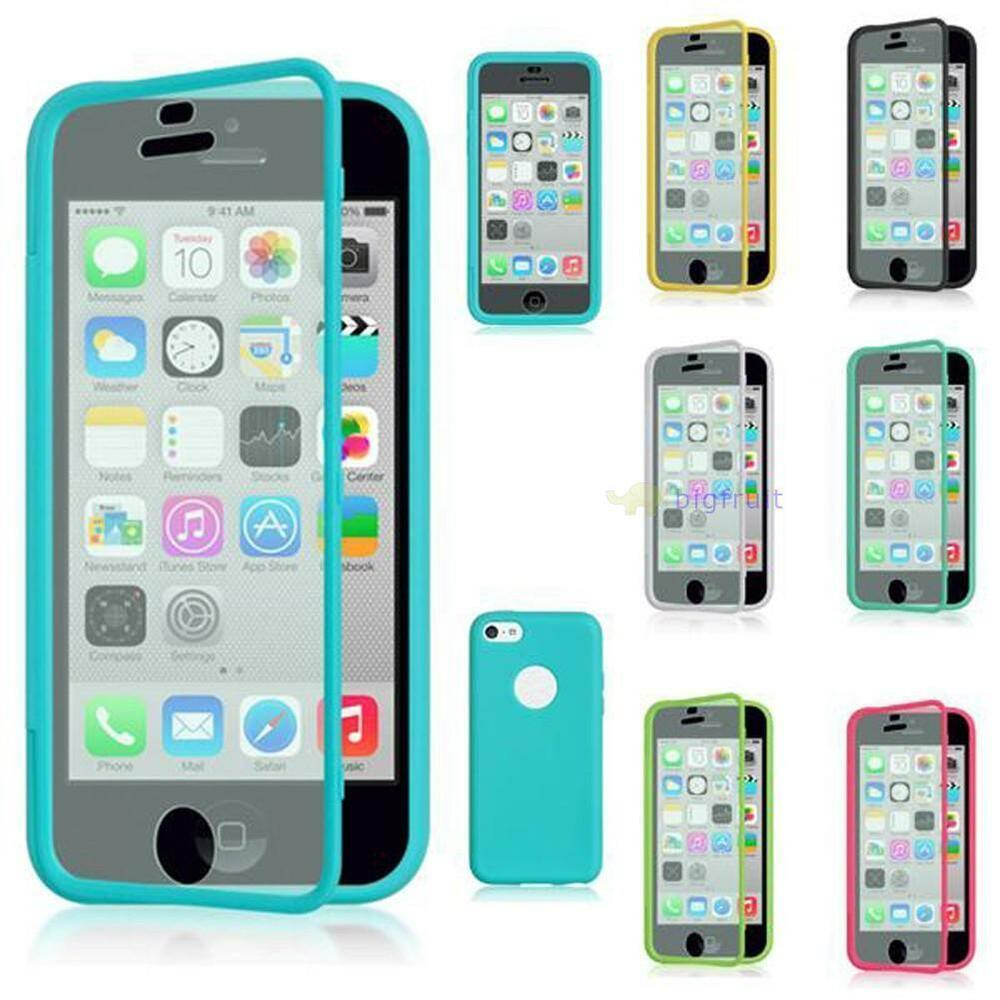 iphone 5s cases ebay transparent soft silicone tpu pc flip back cover for 14763