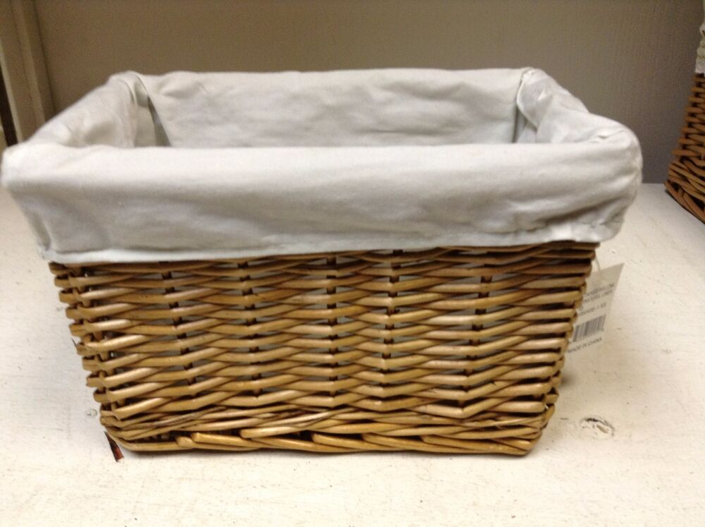 woven wicker storage toy laundry stained willow basket. Black Bedroom Furniture Sets. Home Design Ideas
