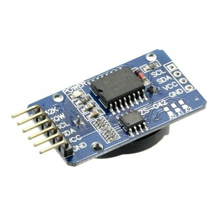 Ds real time clock module for arduino with i c