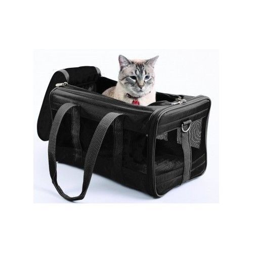 Small Pet Carrier Dog Cat Kennel Soft Sided Comfort Travel