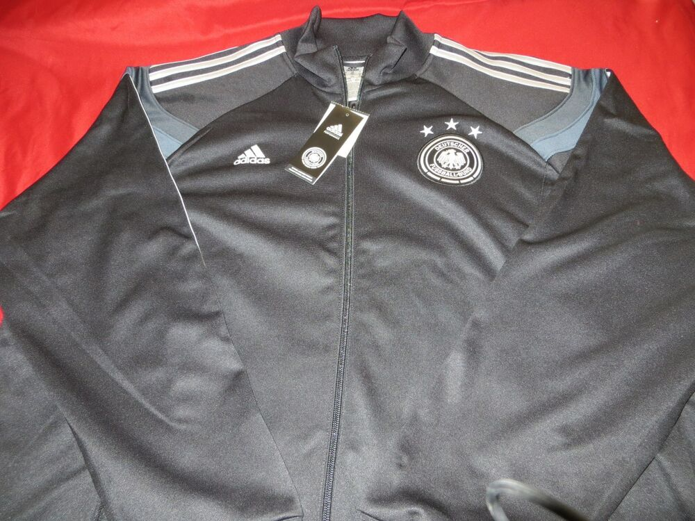 100 Authentic Adidas Germany Soccer Warmup Mens Long