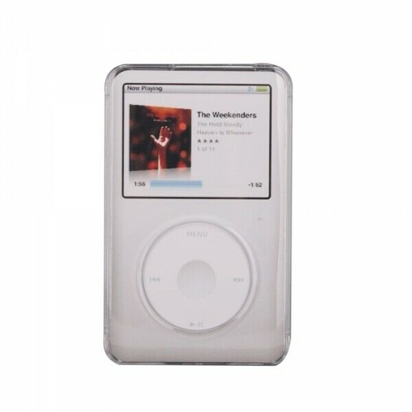 hard plastic shell case for apple ipod classic 6th 7th gen. Black Bedroom Furniture Sets. Home Design Ideas