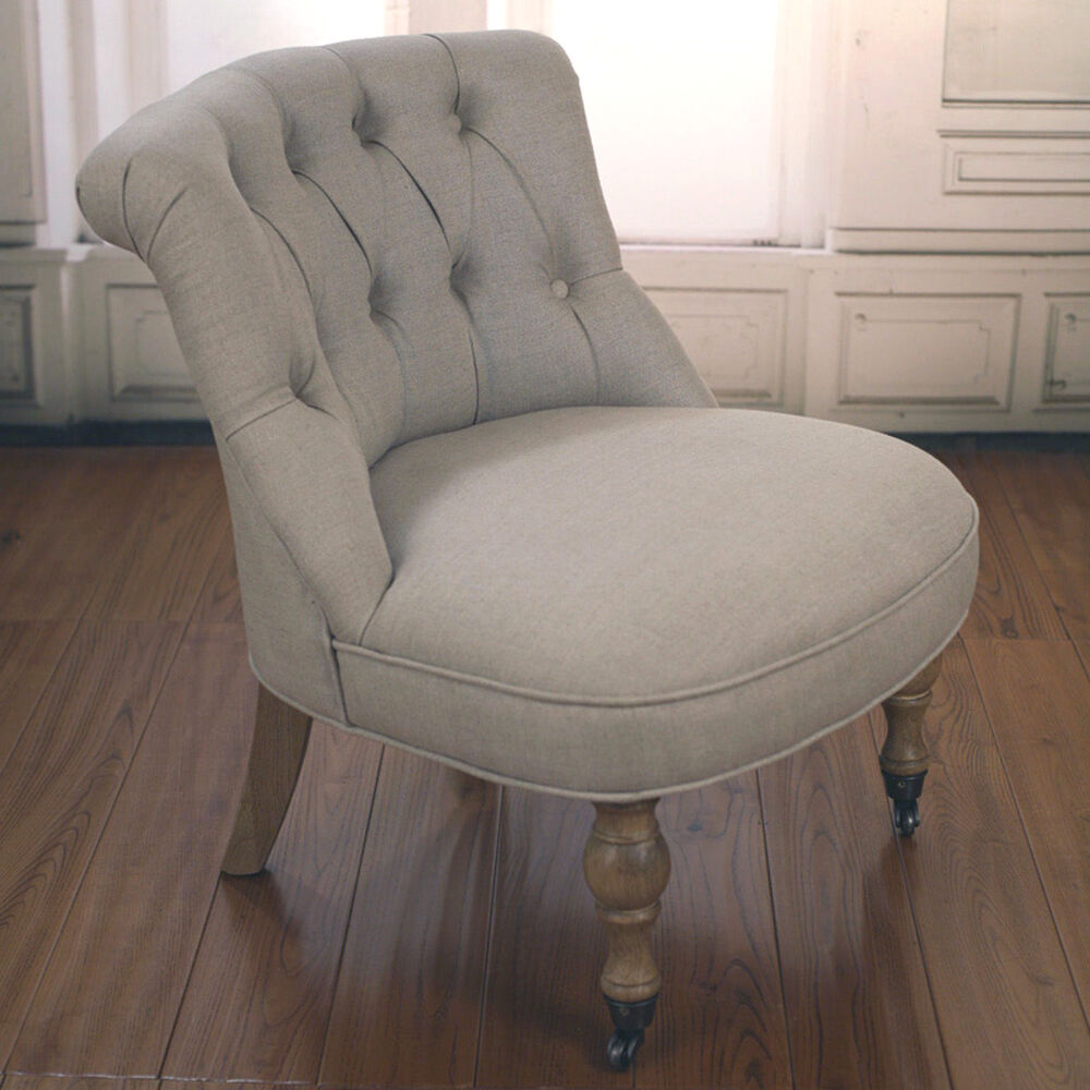 bedroom chair upholstered linen french provincial usa oak chair brand new ebay