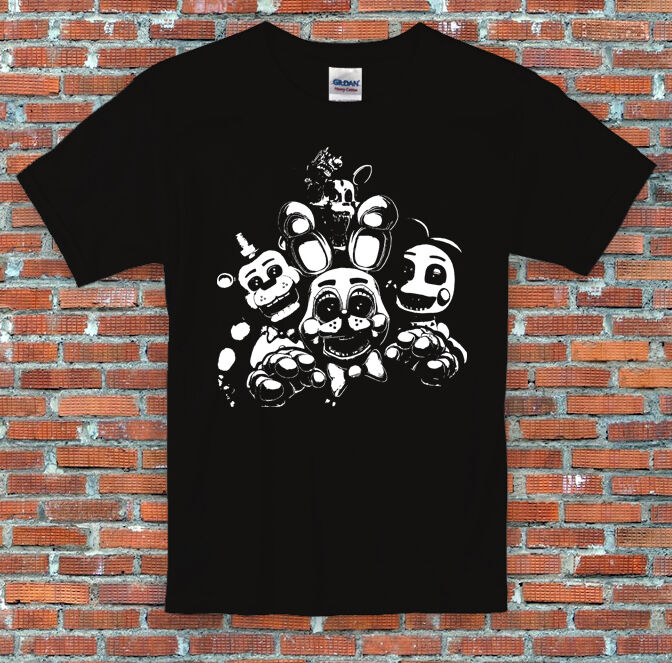 Fnaf toy animals freddy chica bonnie mangle five inspired t shirt s m