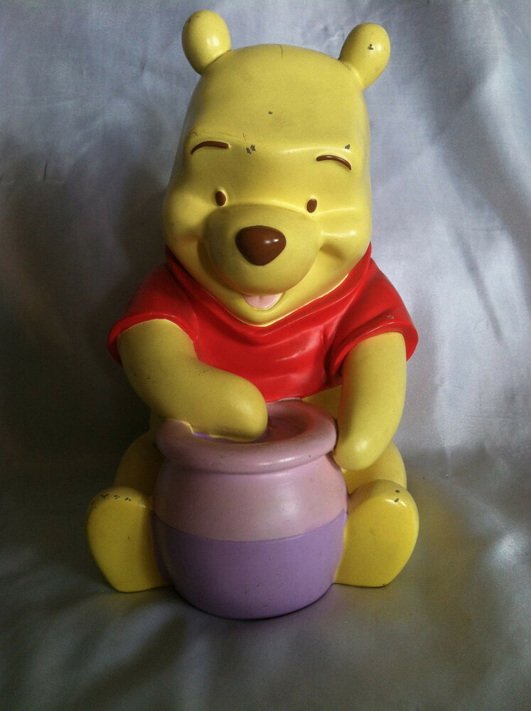 Collectible Disney Winnie The Pooh Piggy Bank Coin Bank Ebay