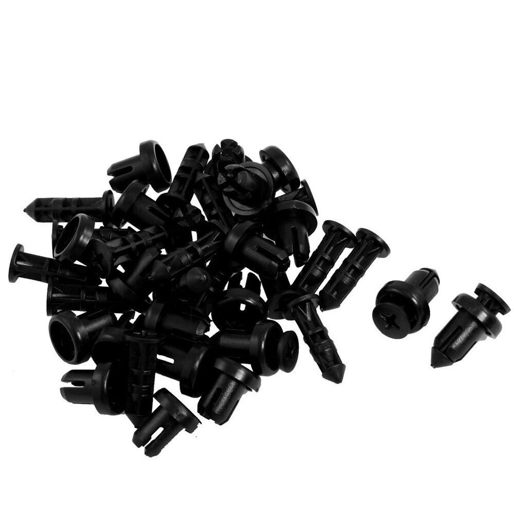 Pcs mm hole push in expanding screw panel clips