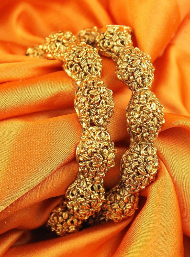 Indian Jewelry Bollywood Polki Lovable Beautiful Gold ...