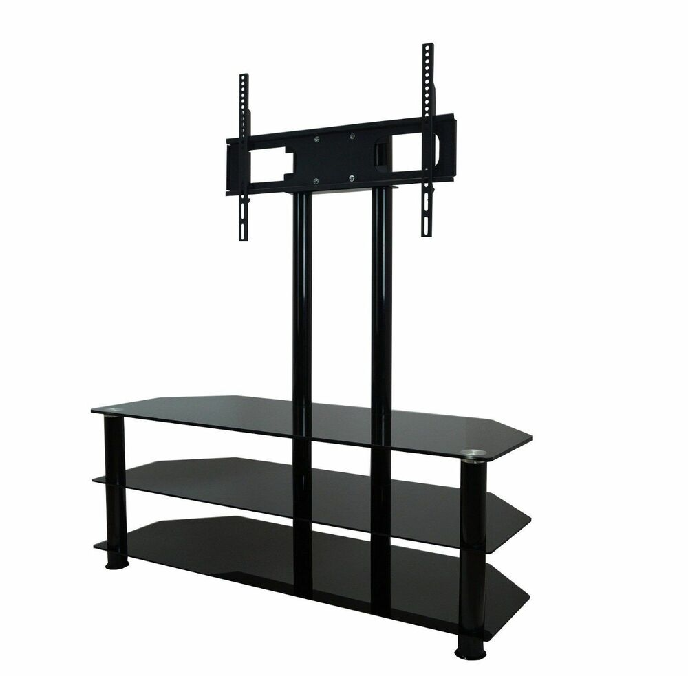 Home Cantilever Glass Tv Stand