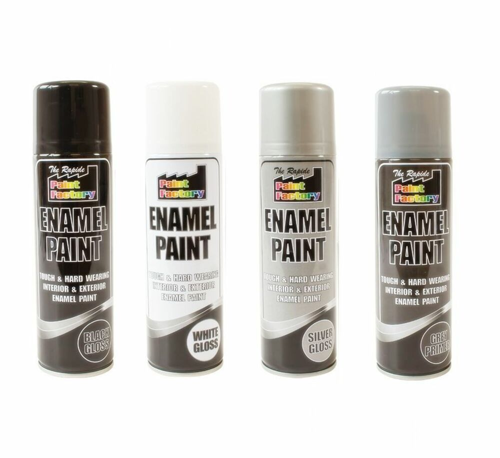 Quality enamel gloss appliance primer spray paint aerosol tough metal ebay Spray paint for metal