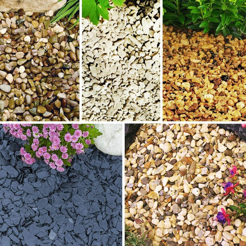 1 30kg Chippings Dash Spar Stone Gravel Landscape Garden