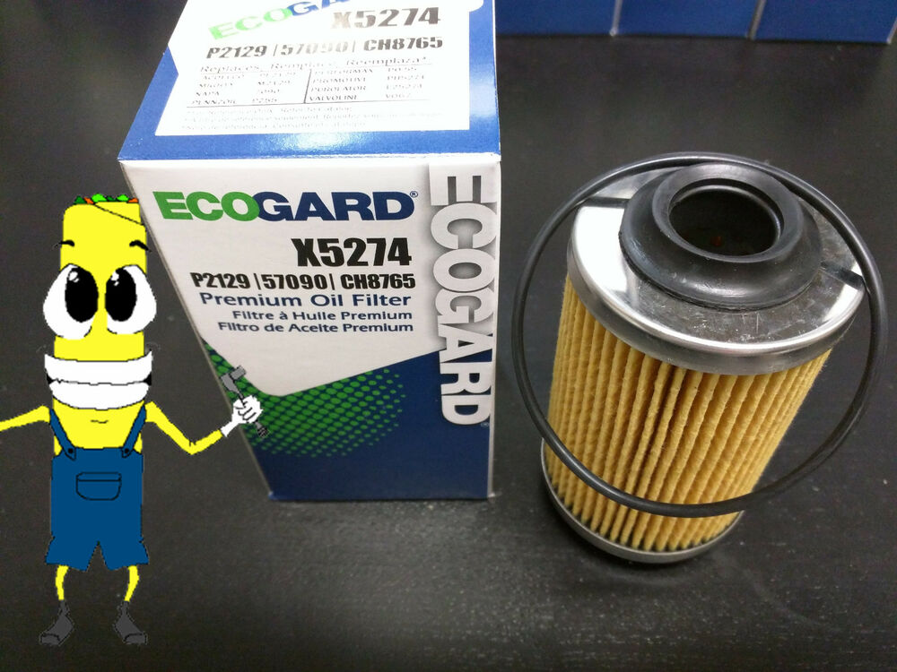 Premium Oil Filter for Cadillac Chevrolet with V6 Engine OE ...