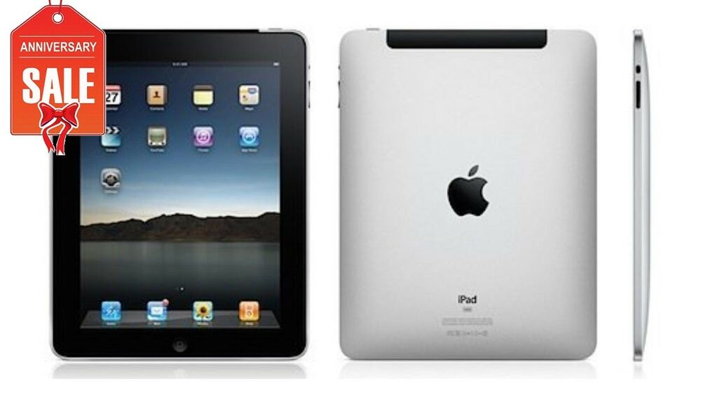 apple ipad 1st generation 64gb wi fi 3g unlocked 9. Black Bedroom Furniture Sets. Home Design Ideas