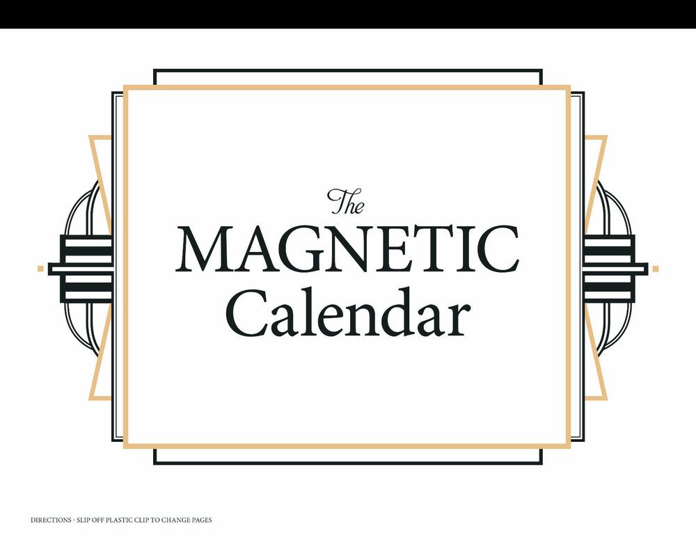 Magnetic Weekly Calendar For Refrigerator : The magnetic calendar family organizer
