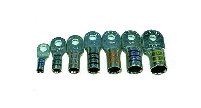 Battery Cable Lugs : Marine battery cable terminals tin plated heavy duty ftz