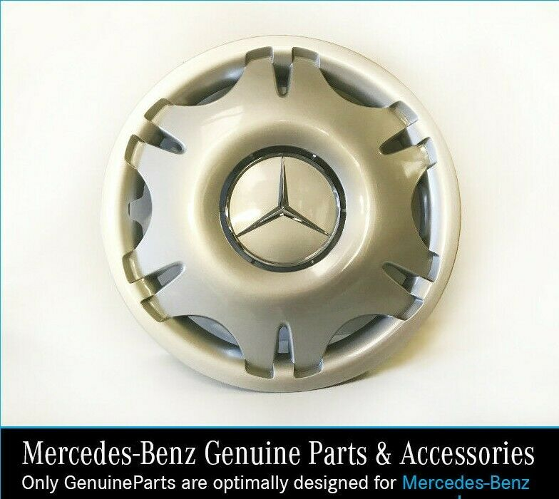 New genuine mercedes benz vito 16 wheel trim hub cap ebay for Mercedes benz hubcaps