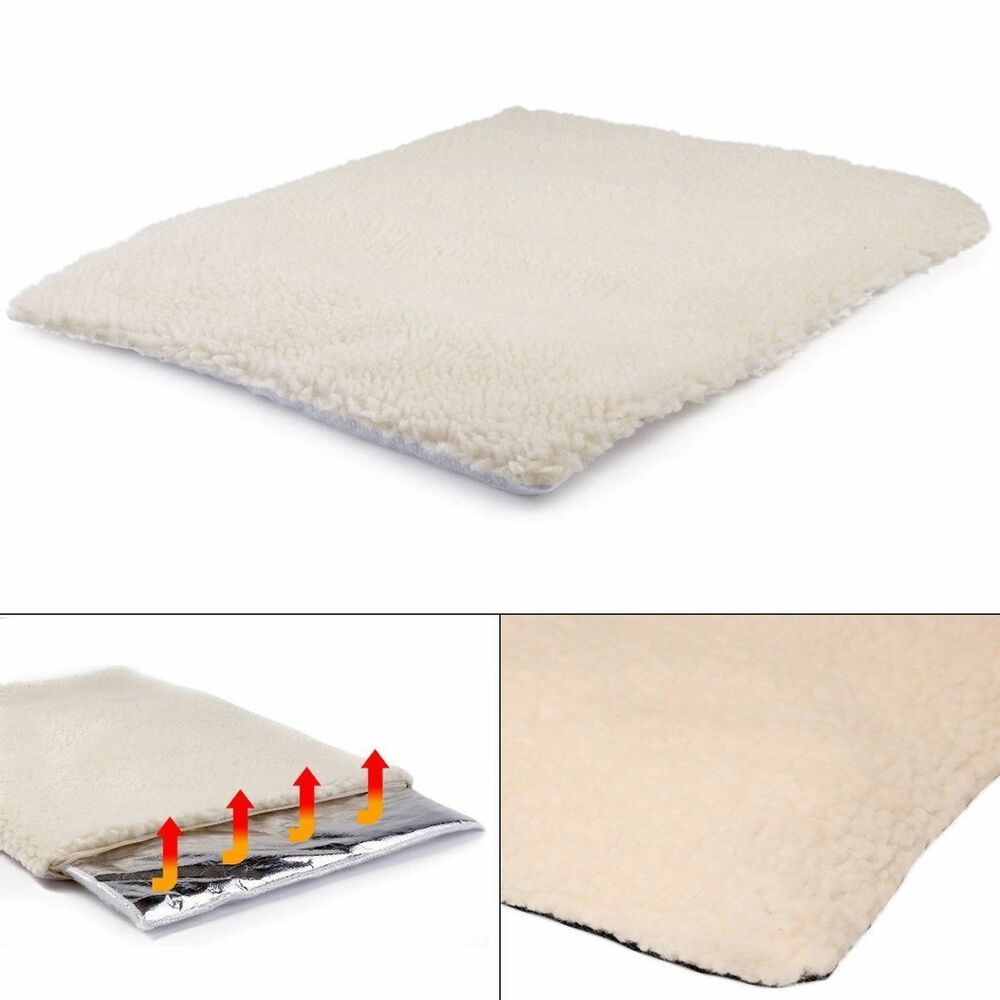 Self Heated Heating Thermal Pet Cat Dog Bed Cushion Mat