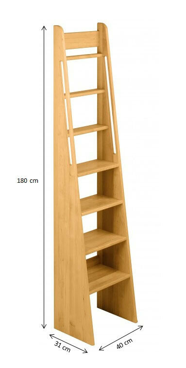 biokinder treppe leiter treppenleiter hochbettleiter bettleiter erle ebay. Black Bedroom Furniture Sets. Home Design Ideas