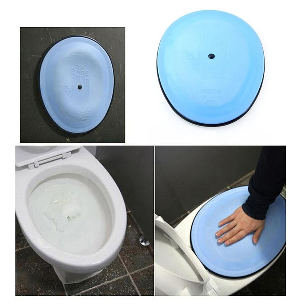 how to clear clogged toilet bowl