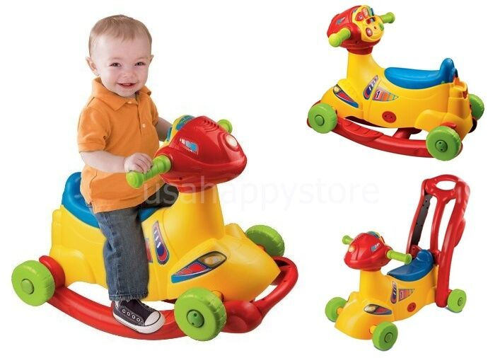 Electronic Learning Toys : Vtech kids ride on toys wheel electronic learning toddler