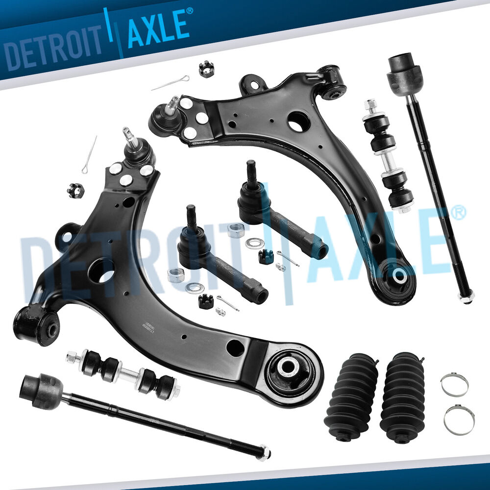Front Suspension: Brand New 10pc Complete Front Suspension Kit For GM