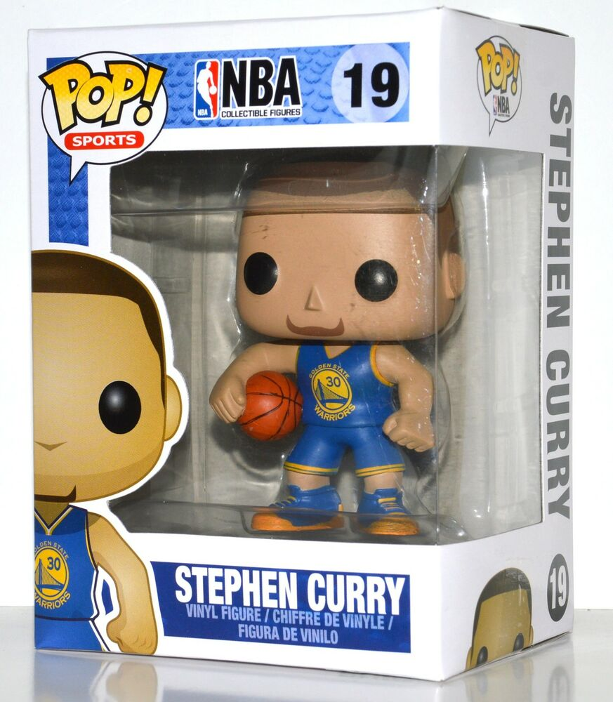 Funko Pop Nba Stephen Curry Vinyl Figure 19 Ebay