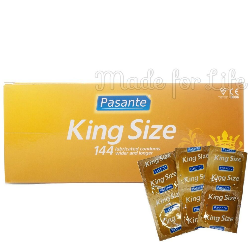 pasante king size xl condoms larger size free shipping ebay. Black Bedroom Furniture Sets. Home Design Ideas