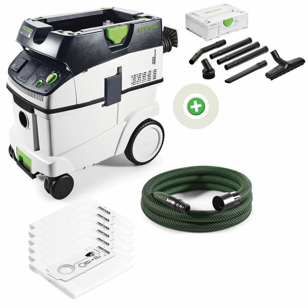 festool absaugmobil ctl 26 e cleantex 583490a2 ebay. Black Bedroom Furniture Sets. Home Design Ideas
