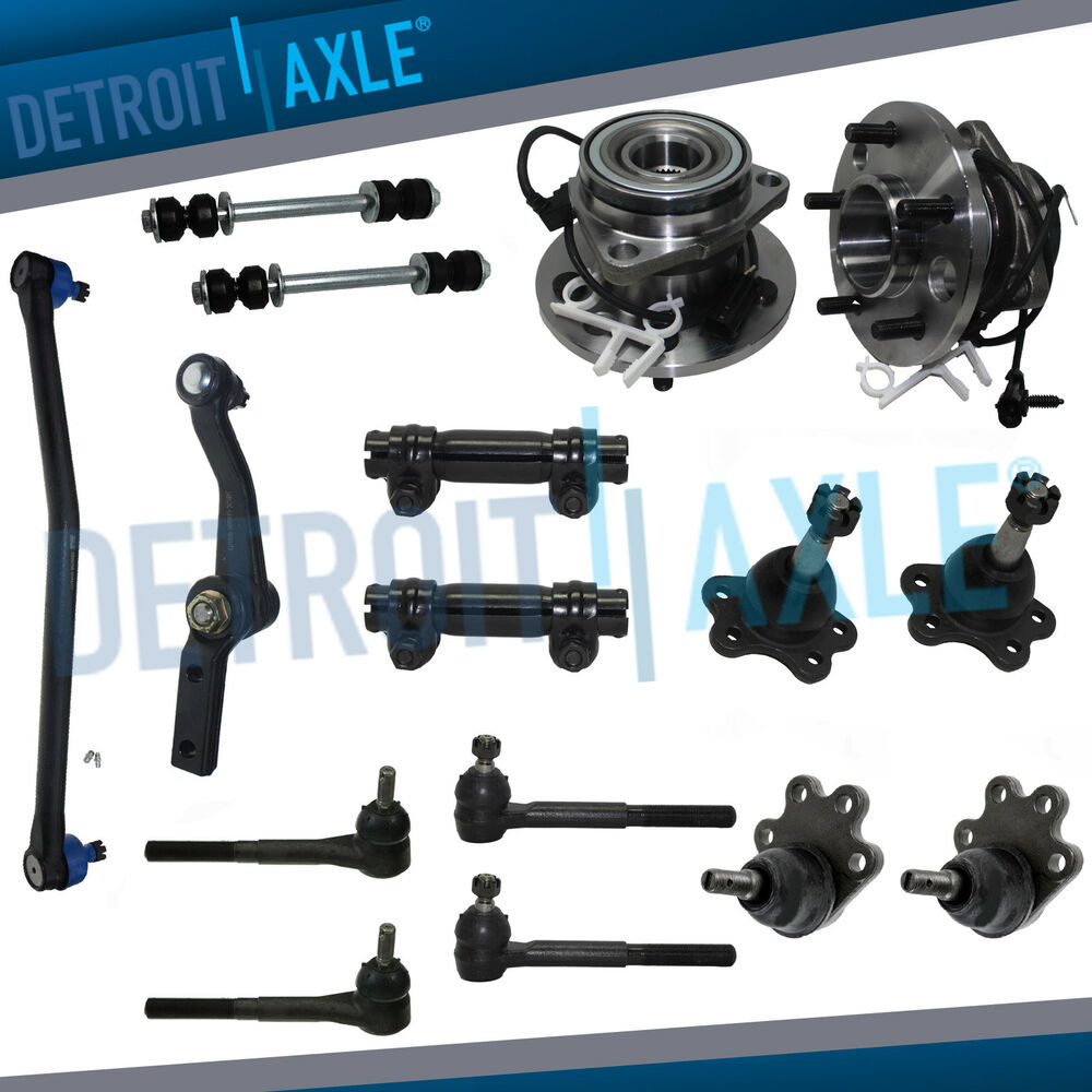 2000 Chevrolet Astro Cargo Exterior: Brand New 17pc Complete Front Suspension Kit 95-02 Chevy