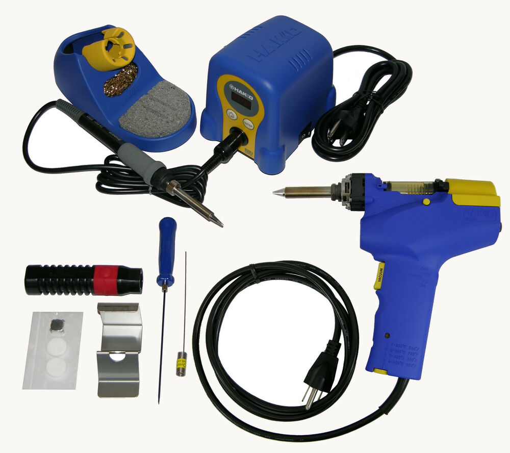 hakko fr 300 fr300 05 p desoldering gun fx888d 23by. Black Bedroom Furniture Sets. Home Design Ideas