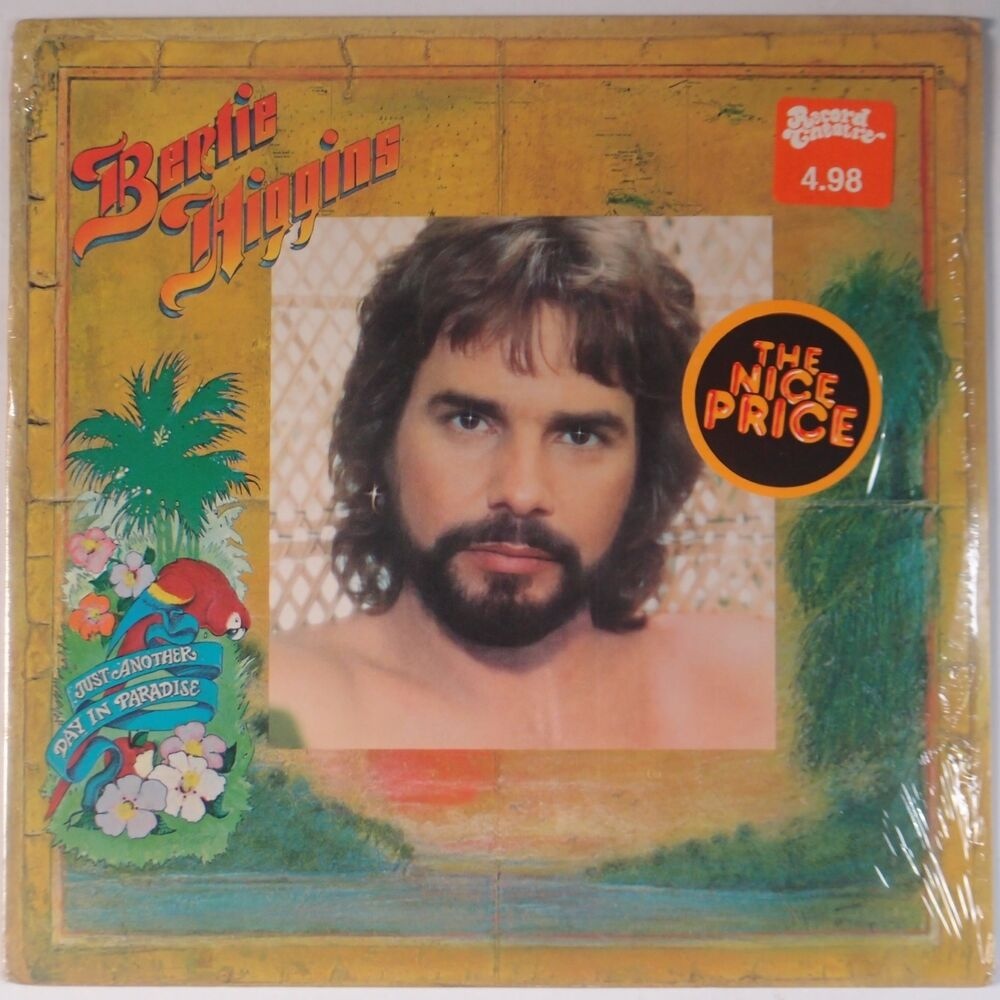 Bertie Higgins Just Another Day In Paradise Shrink Vinyl