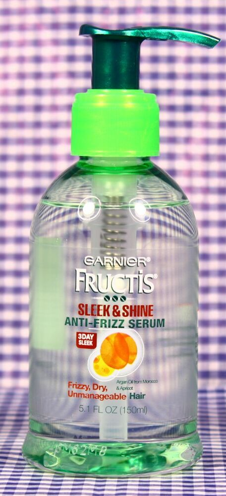 garnier fructis style sleek and shine anti humidity hair spray 1 garnier fructis sleek amp shine anti frizz serum for 8301