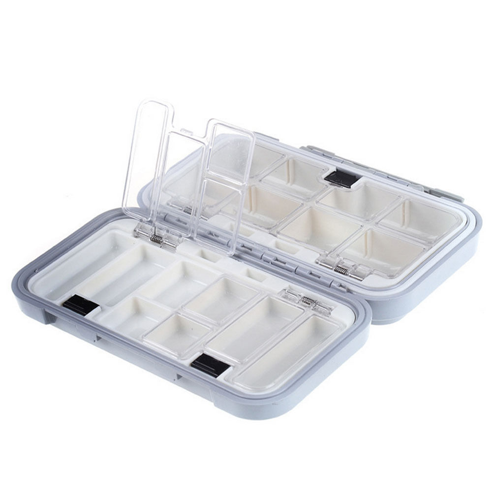 Waterproof fishing lure hooks baits tackle box case for Fishing tackle storage