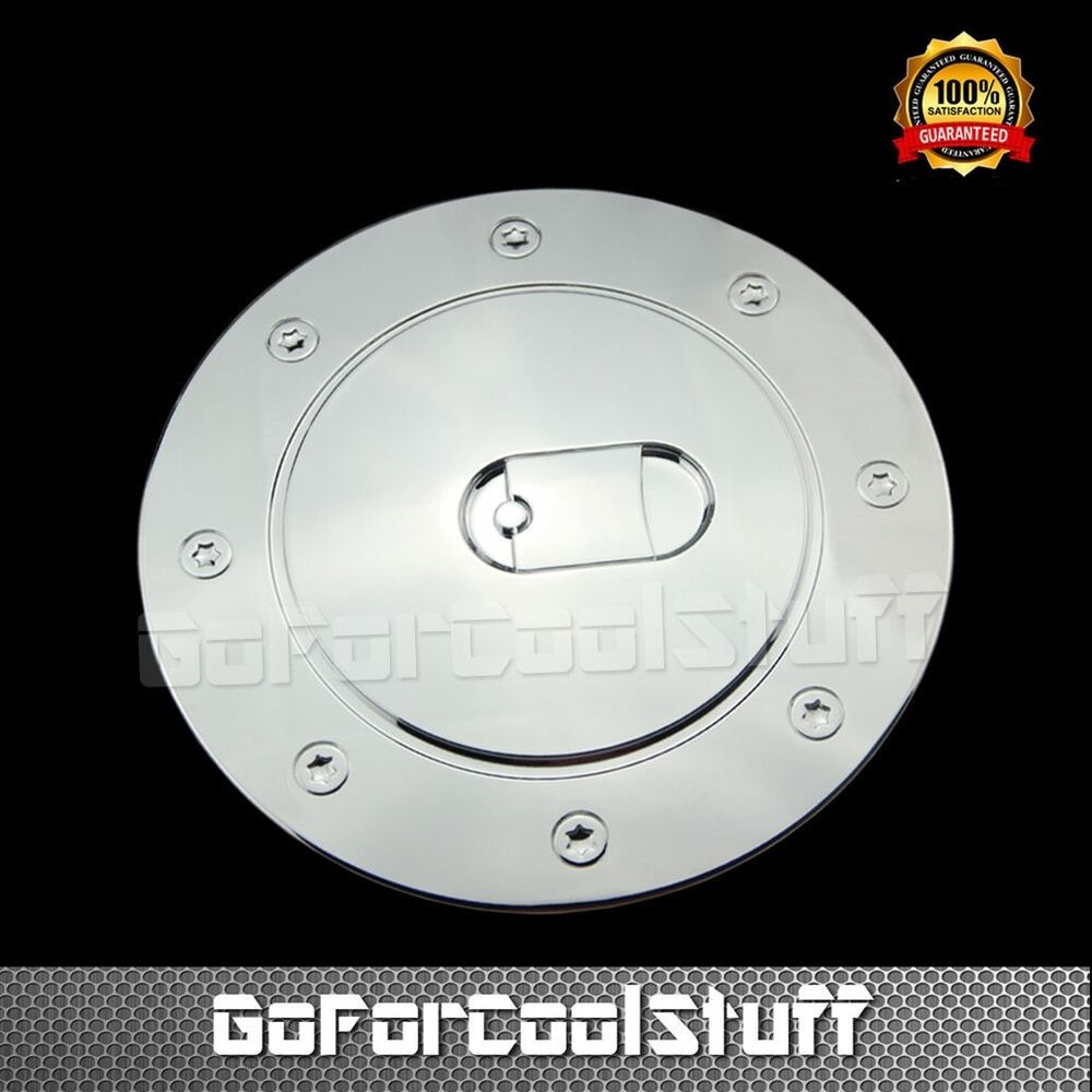 For Cadillac 02-06 Escalade / Ext / Chrome Gas Door Fuel