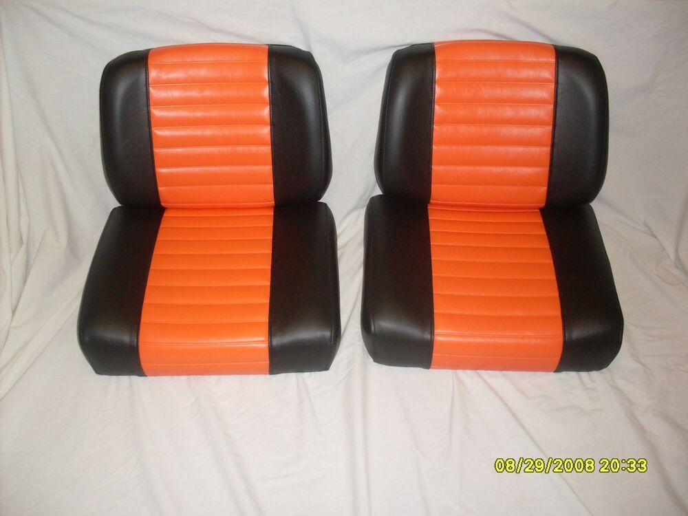 harley davidson golf cart seat set ebay. Black Bedroom Furniture Sets. Home Design Ideas