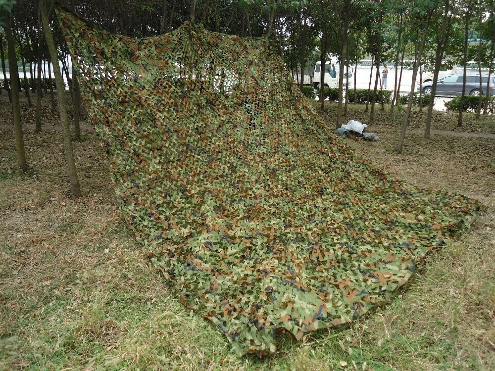 16x10ft Woodland Camouflage Camo Net Netting Camping