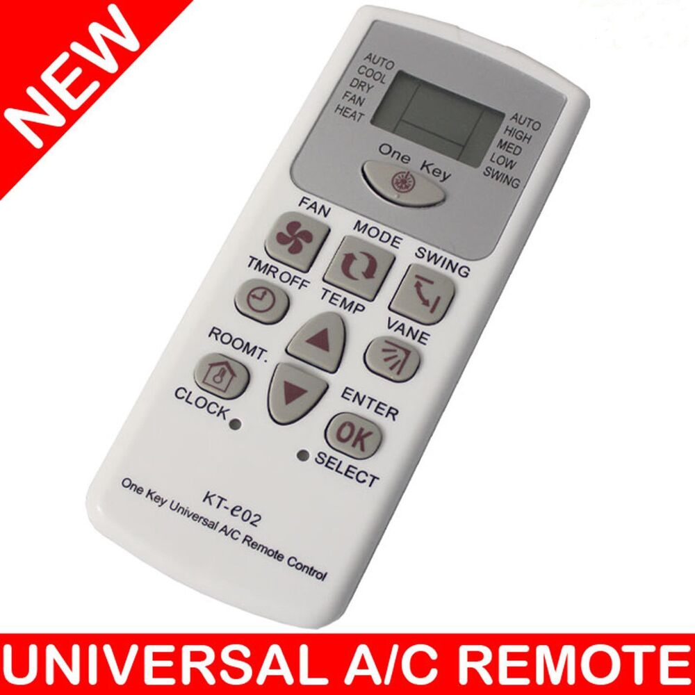 Universal air conditioner a c remote control 4000 codes for 1000 in 1 universal a c remote code table