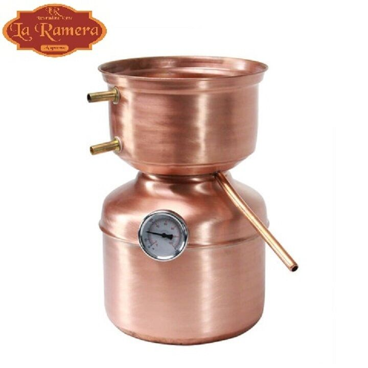 how to make a copper moonshine still at home