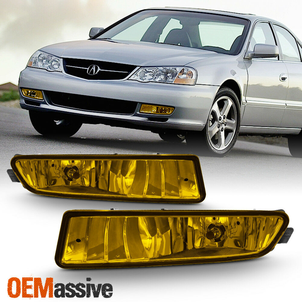 Fits 1999-2003 Acura TL TYPE-S Replacement Bumper Yellow