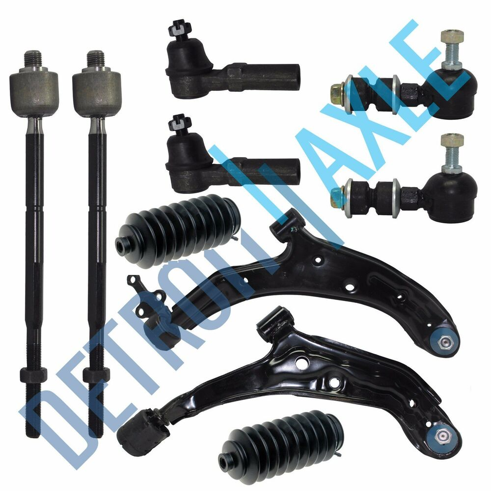 Brand New 10pc Complete Front Suspension Kit Set Fits 2000
