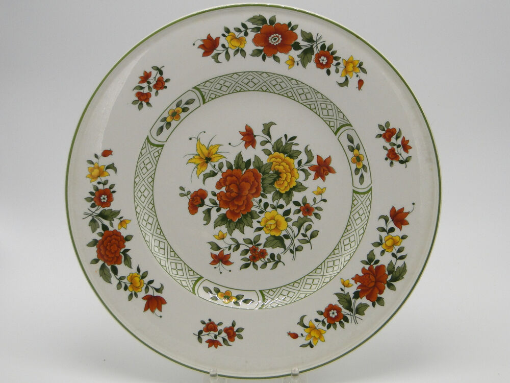 villeroy boch mettlach summer day 10 1 2in dinner plates ebay. Black Bedroom Furniture Sets. Home Design Ideas